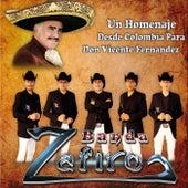 Homenaje a Vicente Fernandez de Banda Zafiro