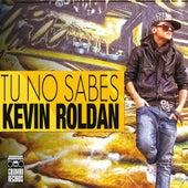 Tu No Sabes de Kevin Roldan