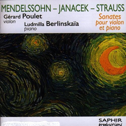 Sonates Pour Violon Et Piano by Gérard Poulet