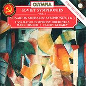 Shebalin: Symphony No. 1 & No. 3 by USSR Radio Symphony Orchestra
