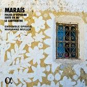 Marais: Folies d'Espagne, Suite en mi & Le labyrinthe (Alpha Collection) de Marianne Muller