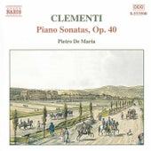 Piano Sonatas, Op. 40 von Muzio Clementi