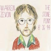 The Stone Pony (Live Radio Broadcast) von Warren Zevon