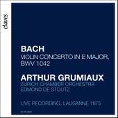 Arthur Grumiaux - Bach Concerto in E Major by Arthur Grumiaux