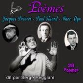 Poèmes : James Prévert, Paul Eluard & Marc Alyn (28 Poèmes) de Serge Reggiani