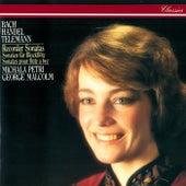 Recorder Sonatas By Bach, Telemann, Handel, Schickhardt & Frederick II de George Malcolm