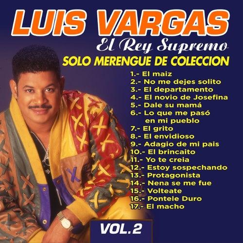 Solo Merengue de Colección, Vol. 2 by Luis Vargas