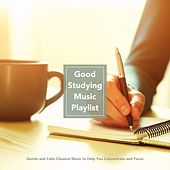 Good Studying Music Playlist: Gentle and Calm Classical Music to Help You Concentrate and Stay Focused von Various Artists
