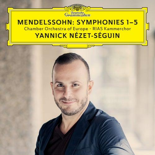 Mendelssohn: Symphonies 1-5 (Live) by Yannick Nézet-Séguin