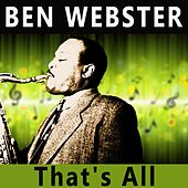 That's All von Ben Webster