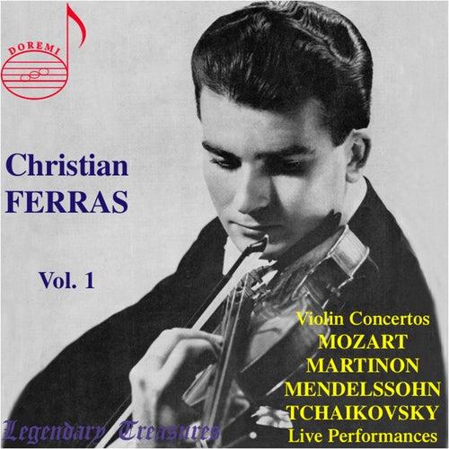Christian Ferras, Vol. 1 (Live) by Christian Ferras