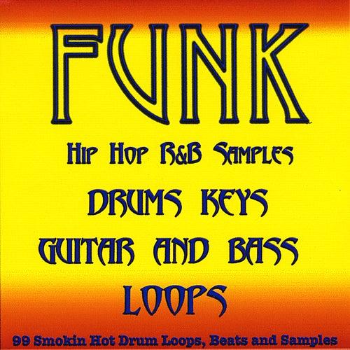 Funk Pop Drum Loops, Guitar, Bass and Keyboard Samples by 99 Smokin Hot Drum Loops