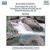 Piano Sonata No. 2 / Variations by Sergei Rachmaninov
