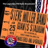 Legendary FM Broadcasts - Giants Stadium, NJ 25th June 1978 de Steve Miller Band