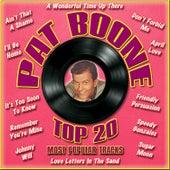 Top 20 Most Popular Tracks van Pat Boone