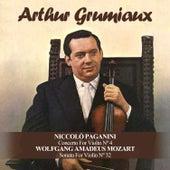 Niccolò Paganini: Concerto For Violin Nº 4 / Wolfgang Amadeus Mozart: Sonata For Violin Nº 32 by Various Artists