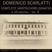 Domenico Scarlatti: Complete Harpsichord Sonatas in 10 volumes, Vol. 3 by Claudio Colombo