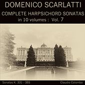 Domenico Scarlatti: Complete Harpsichord Sonatas in 10 volumes, Vol. 7 by Claudio Colombo