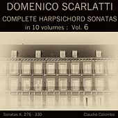 Domenico Scarlatti: Complete Harpsichord Sonatas in 10 volumes, Vol. 6 by Claudio Colombo