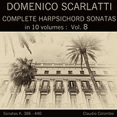 Domenico Scarlatti: Complete Harpsichord Sonatas in 10 volumes, Vol. 8 by Claudio Colombo