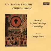 Italian & English Church Music by George Guest