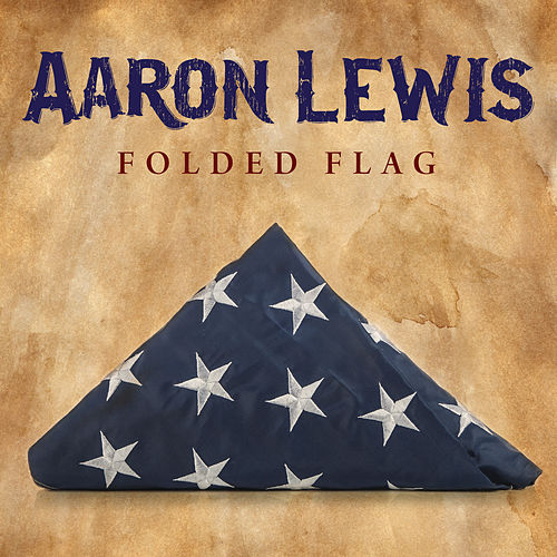 Folded Flag by Aaron Lewis