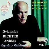 Richter Archives, Vol. 1: Beethoven Late Piano Sonatas (Live) by Sviatoslav Richter