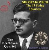 Shostakovich: The 15 String Quartets von The Beethoven Quartet