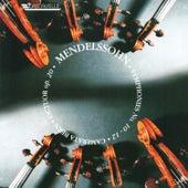 Mendelssohn: String Octet, Op. 20 - String Symphony No. 10 in B Minor - String Symphony No. 12 in G Minor by Camerata Bern