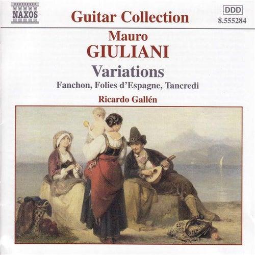 Guitar Music Vol. 1, Variations by Mauro Giuliani