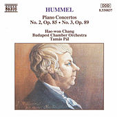 Piano Concertos Nos. 2 and 3 by Johann Nepomuk Hummel