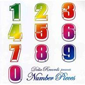 DELIC RECORDS presents NUMBER PIECES by Various Artists