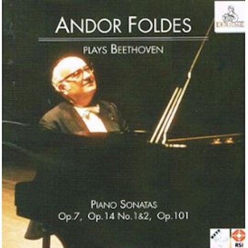 Andor Foldes Plays Beethoven: Piano Sonatas Op. 7, Op. 14 Nos 1 & 2, Op. 101 de Andor Foldes