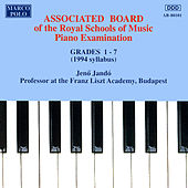 Piano Music For Students: Associated Board Piano Examination, Grades 1-7 by Jenő Jandó