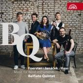 Janáček, Foerster & Haas: Music for Wind Instruments de Belfiato Quintet