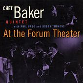 At the Forum Theater (Live) [feat. Phil Urso & Bobby Timmons] by Chet Baker