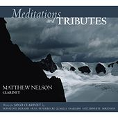 Meditations and Tributes: Works for Solo Clarinet by Matthew Nelson