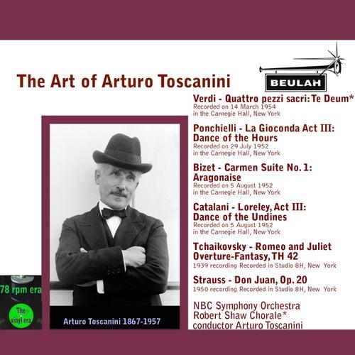The Art of Arturo Toscanini by Arturo Toscanini