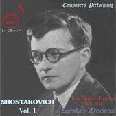 Composers Performing: Shostakovich Vol. 1 by Dmitri Shostakovich