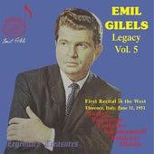 Emil Gilels Legacy Vol.5 von Emil Gilels