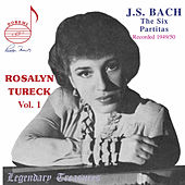 Bach: The Six Partitas by Rosalyn Tureck