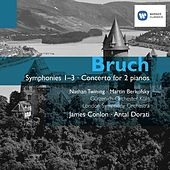 Bruch: Symphonies and Concerto for 2 pianos by James Conlon