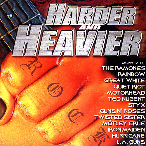 Harder And Heavier by Various Artists