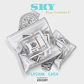 Flashin Cash (feat. Lutinent G) by Sky