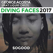 Diving Faces 2017 by George Acosta