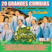 20 Grandes Cumbias, vol. 4 (La Canalla) de Los Hermanos Barrón