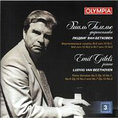 Beethoven: Piano Sonatas Nos. 5, 6 & 7 by Emil Gilels