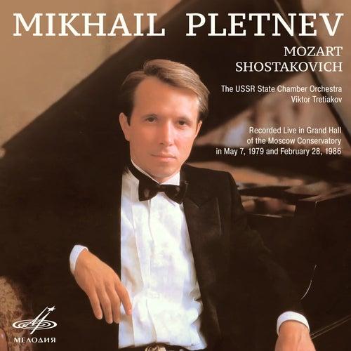 Mozart & Shostakovich (Live) by Mikhail Pletnev