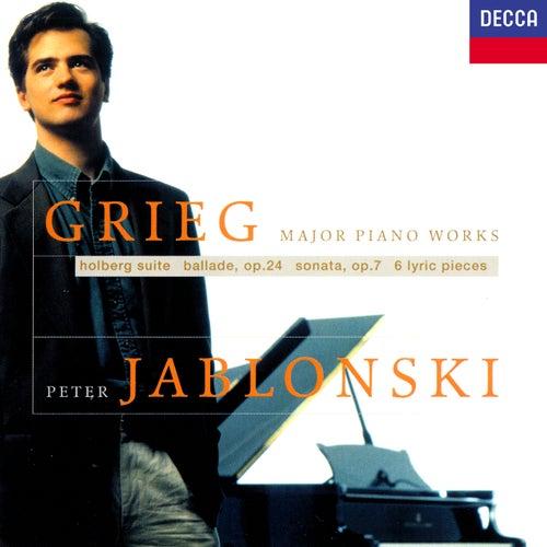 Grieg: Piano Sonata; Holberg Suite; Lyric Pieces von Peter Jablonski