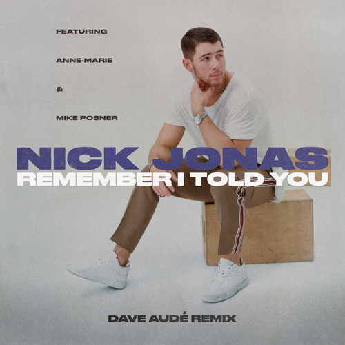 Remember I Told You (Dave Audé Remix) by Nick Jonas